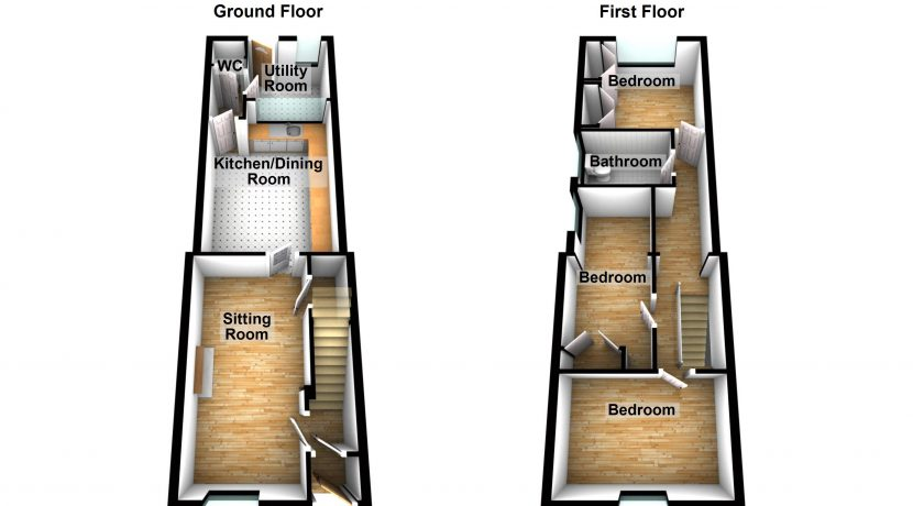 19 Ballymacool Terrace - Floorplan