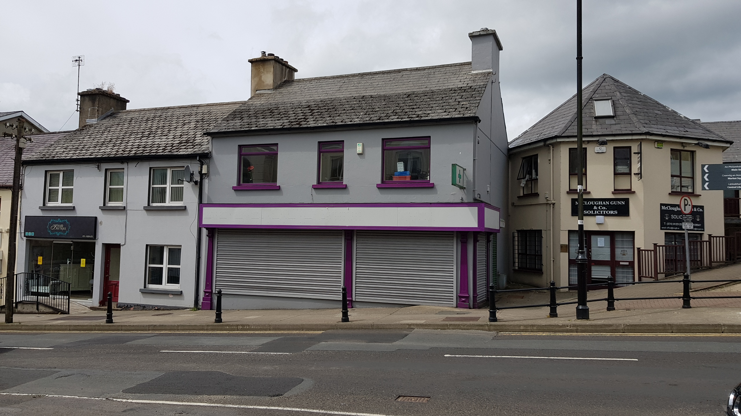 Formerly Ruth's Pharmacy, High Road, Letterkenny, Co. Donegal
